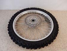 2011 Honda CRF 450 Front Wheel Rim Hub Brake Rotor Tire - Free Shipping