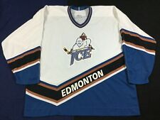 Vintage 90's Edmonton Ice Hockey-WHL CCM Jersey Size2XL