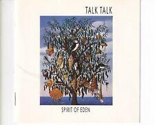 CD TALK TALKspirit of edenUK 1988 EX+ (B5292)