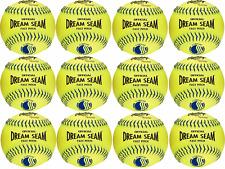 """Rawlings Dream Seam Usssa 12"""" Fastpitch Softballs One Dozen C12Byluc"""