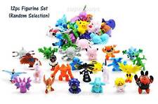 12pc Pokemon Go Figurine For Cake Decoration Topper Figure Toy Decorate PVC Set
