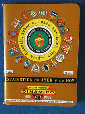 Spanish Football Handbook / Yearbook - 1981/82 - La Liga