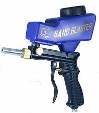 Gravity Feed Portable Pneumatic Abrasive Sandblasters Gun Remove Spot Rust
