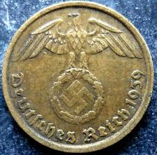 5 Reichspfennig 1937-1939 German Third Reich Buy 3 get 1 Free-Real Deal !!! WW2