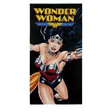 Wonder Woman Flight Beach Towel Black