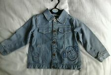NWT Blue Denim Jacket Size 18-24 mths