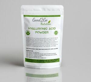Hyaluronic Acid Powder Vegan Pure 100% Premium Quality Product Serum For Face