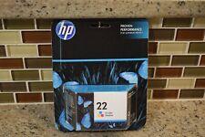 HP 22 Tri-Color Ink Print Cartridge Original EXP  - 06/2017