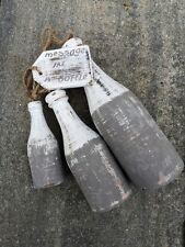 Treibholz, Treibholzhänger, Message in the Bottle, Schwammholz, Holzflasche