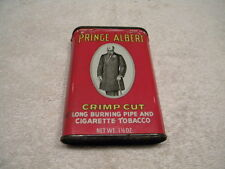 NOS/New Original Prince Albert Crimp Cut Pipe & Cigarette Tobacco Metal Tin/Can