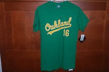 Oakland ATHLETICS A's MLB Shirt Green Size S Men #16 BUTLER by Genuine NWT