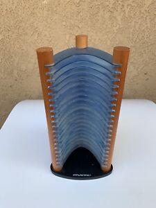 Rare Atlantic 20CD Jewel Case Tower Cd Holder Blue