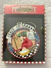 "Vintage Kurt Adler Mary Engelbreit ""Peace On Earth"" Ornament"