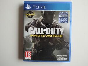 Call Of Duty: Infinite Warfare on PS4 in MINT condition