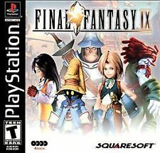 New! Final Fantasy IX 9 Playstation 1 PS1 PS2 PS3 RPG Free Shipping Role Playing