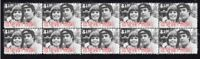 CAPTAIN & TENNILLE STRIP OF 10 MINT 1970'S POP VIGNETTE STAMPS 2