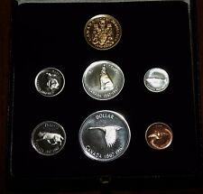 1867-1967 Canada Centennial Gold & Silver 7 Coins Specimen Set in MINT Condition