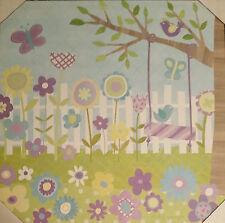 Circo Canvas Buds N Blossom Wall Art Oopsy Daisy Girls Lavendar Blue