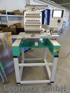 Tajima TWMX-C 1501 MFG Stickautomat 15 Nadeln Stickmaschine