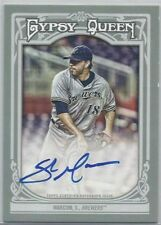 2013 Topps Gypsy Queen Autograph Card #GQA-SMA, Shaun Marcum, Milwaukee Braves