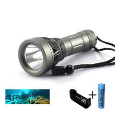 Cree T6 xml 2000lm LED Diving Flashlight Waterproof flash Torches Underwater