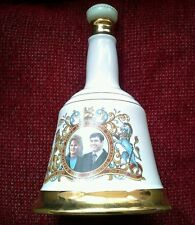 Bell's Scotch Whisky porcelain Decanter,marriage of Prince Andrew&Sarah Ferguson
