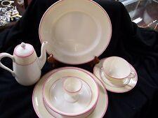 7 Pc. Lenox China Breakfast Set With Tea/Coffee Pot-Pre 1930