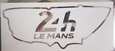 Le Mans 24hr 2017 en Cromo Espejo Pegatina de vinilo, calcomanías pista de carreras