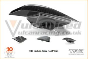 TRS Professional Aero Race Rally Motorsport Carbon Fibre Roof Vent
