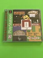 🔥 PS1 PlayStation 1 PSX GAME 💯 COMPLETE WORKING GAME 🔥 NAMCO MUSEUM VOL 1 🔥