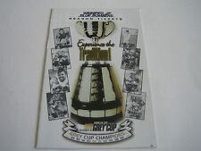 1998 CFL WINNIPEG BLUE BOMBERS POCKET SCHEDULE***GREY CUP***