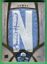 2013 Topps Five Star JUSTIN HUNTER AUTOGRAPH JERSEY ROOKIE Titans *RARE 1/1