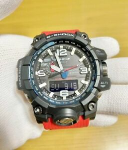 CASIO G-SHOCK GWG-1000RD-4AJF Rescue Red Mad Master Men's Watch from JP
