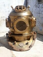 "Italia La Spezia 18"" U.S Navy Diving Helmet Mark V Deep Sea Divers Helmet Replic"