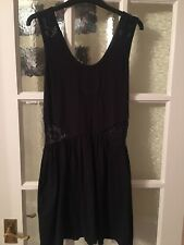 Superdry Dress With Lace Detail Size Medium