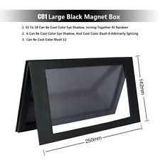 Empty Magnetic Palette Makeup Palette Pad Black Large Pattern DIY Palette New `