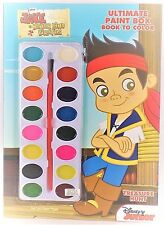 Disney Jr Jake & the Neverland Pirates Ultimate Paint Box Book to Color, Ages 3+
