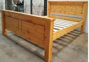 chunky pine bed frame   EXTRA STRONG BED SLATS