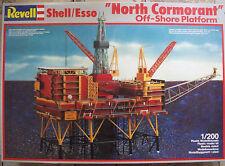Revell 8803 1:200 SHELL ESSO OFF-SHORE PLATFORM NORTH CORMORANT Rarität
