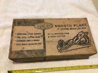 Vintage Dunlap #3738 Plane in Original Box