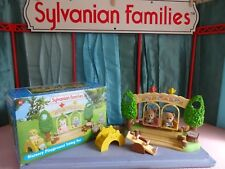 Sylvanian Families Flair Boxed Complete Mint Nursery playground Set & Monkeys