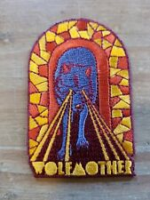 "Wolfmother Iron on patch 2""× 3"""