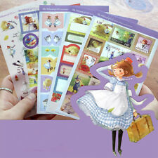 New 5 sheets The wizard of oz Scrapbooking Diary Letter Paper Deco label Sticker