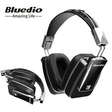 Active Noise Cancelling Wireless Bluetooth Head Mounted Headphones Bluedio F800