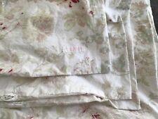 "Rare ORIGINAL Rachel Ashwell Shabby Chic Couture Rambling Rose ""Twin"""