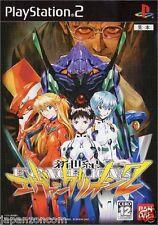Used PS2 Neon Genesis Evangelion 2 SONY PLAYSTATION JAPAN IMPORT