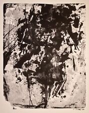 Fred Thieler - o. T. - Lithographie - 1960