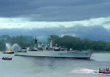 HMS BROADSWORD '82 Return' - HAND FINISHED, LIMITED EDITION ART (25)
