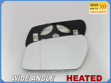 Wing Mirror Glass FORD FOCUS II 2003-07 Wide Angle HEATED Left Side #D022
