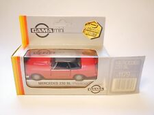 Mercedes W R 113 230 SL Pagode rot rouge roja red, GAMA Replica 1:37>1:43 boxed!